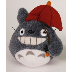 Studio Ghibli Peluche MON VOISIN TOTORO - Totoro Red Umbrella