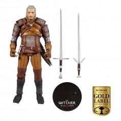 Mc Farlane - The Witcher - Geralt 1/12 - Gold Label