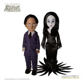 Mezco Living dead Dolls - The Adams Familly - 2 pack Gomez & Morticia