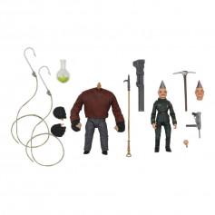 Neca - Puppet Master - pack 2 figurines Ultimate Pinhead & Tunneler