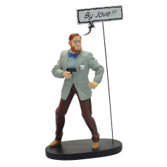 """Collectoys - Blake & Mortimer statuette - Bulles """"By Jove!!!"""""""