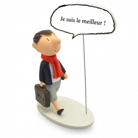 """Collectoys - Le Petit Nicolas statuette - Bulles """"Je suis le meilleur"""""""