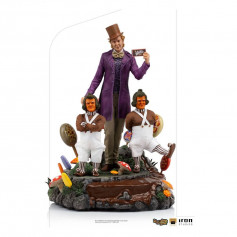 Iron Studios - Willy Wonka Charlie et la Chocolaterie (1971) statuette Deluxe Art Scale 1/10