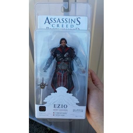 Neca Assassin's Creed Brotherhood Ezio Ebony Unhooded
