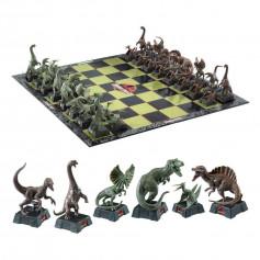 Noble Collection - Jurassic Park jeu d'échecs Dinosaures