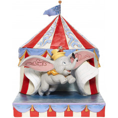 Enesco - Dumbo Flying Out of Tent - Disney Tradition by Jim Shore