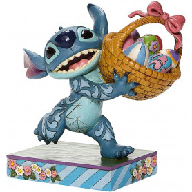 Disney Traditions Lilo et Stich - Stitch Running with Easter Basket