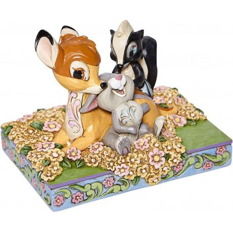 Enesco - Bambi & Friends in Flowers - Disney Tradition by Jim Shore
