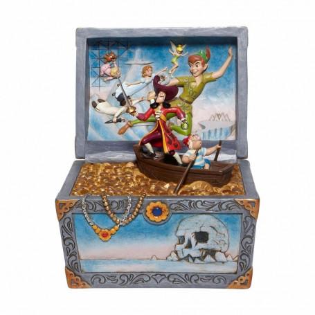 "Enesco - Peter Pan ""Treasure-strewn Tableau"" - Disney Tradition by Jim Shore"