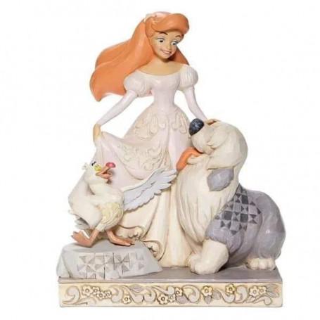 Enesco Disney Traditions - Ariel Spirited Siren - WHITE WOODLAND