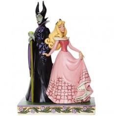 Enesco - Aurora & Maleficent - Aurore & Malefique Disney Tradition by Jim Shore