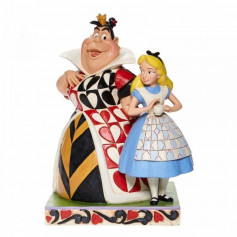 Enesco - Alice and the Queen of Hearts - Chaos and Curiousity - Alice au Pays des Merveilles Disney Tradition by Jim Shore