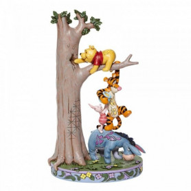 Enesco - Winnie l'Ourson - Acre Caper - Tree with Pooh and Friends - Disney Tradition by Jim Shore