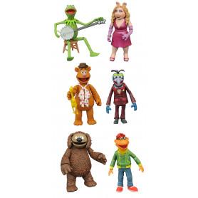 Diamond Select Muppets Best of Series 1 - Set Complet de 6 figurines
