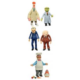 Diamond Select Muppets Best of Series 2 - Set Complet de 6 figurines