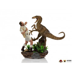 Iron Studios - Clever Girl - Jurassic Park 1/10 Deluxe Art Scale