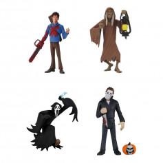 Neca - Toony Terrors - Ghostface - Bloody Ash - Michael Myers H2 - Creep - Serie 5