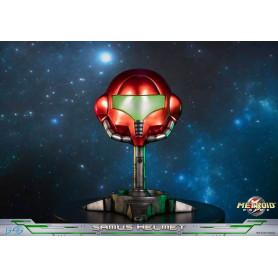 First 4 figures Metroid Prime statue Samus Helmet