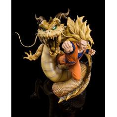 Bandai Dragon Ball Z Figuarts Zero - Son Goku SSJ3 Dragon Fist