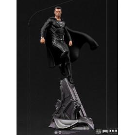 Iron Studios Superman Black Suit Zack Snyder Justice League