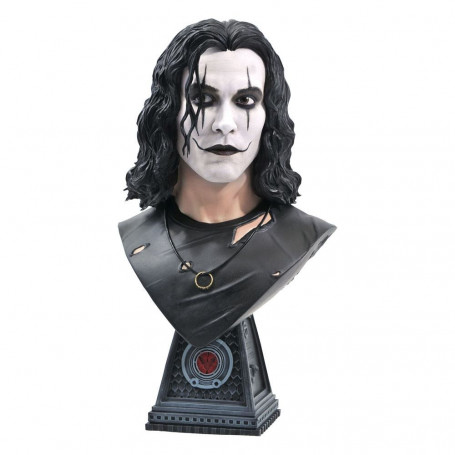 Diamond Select Toys - Eric Draven The Crow 1/2 Bust - LEGENDS IN 3D