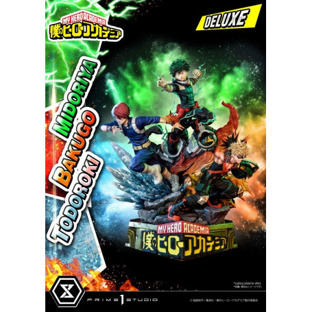 Prime 1 Studio - Midoriya, Bakugo & Todoroki Deluxe Bonus Version - My Hero Academia
