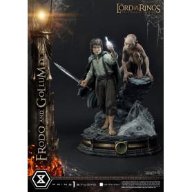 Prime 1 Studio - Frodo & Gollum Bonus Version 1/4 - LOTR - Le Seigneur des Anneaux