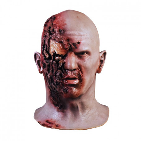 Trick or Treat Studios - Dawn of the Dead - Airport Zombie Mask Masque Latex
