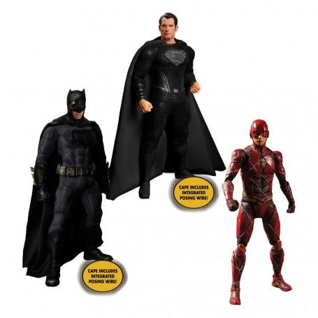 Mezco One 12 - DC Comics - Zack Snyder's Justice League 1/12 Deluxe Steel Box Set