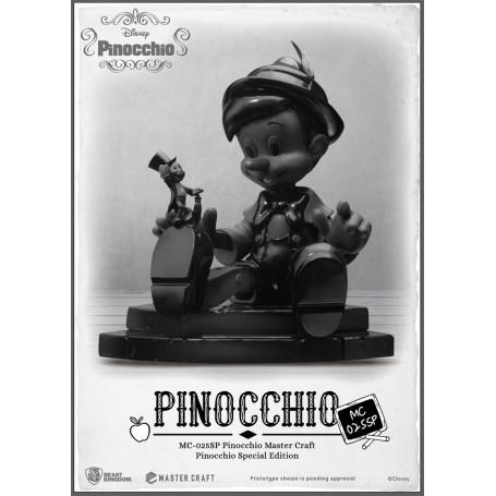 Beast Kingdom Disney - Master Craft Pinocchio Black & White Special Edition