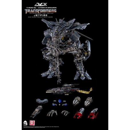ThreeZero - DLX Jetfire - Transformers 2 : La Revanche figurine 1/6