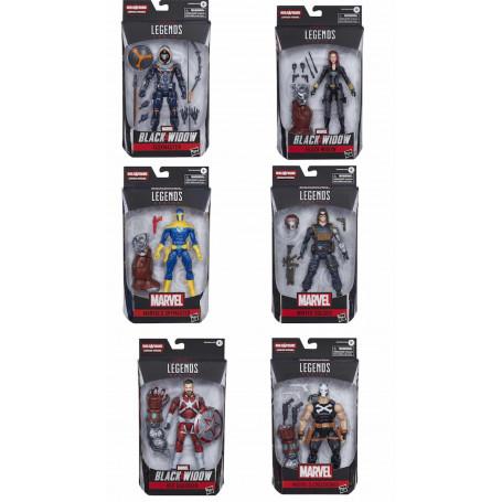 Marvel Legends - Crimson Dynamo Built a figure Wave - Serie complete de 6 figurines