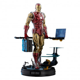Hot toys - Iron Man Deluxe Version - Marvel The Origins Collection Comic Masterpiece figurine 1/6