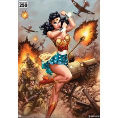 DC Comics impression - Art Print Wonder Woman WWII - J Scott Campbell 46 x 61 cm - non encadrée