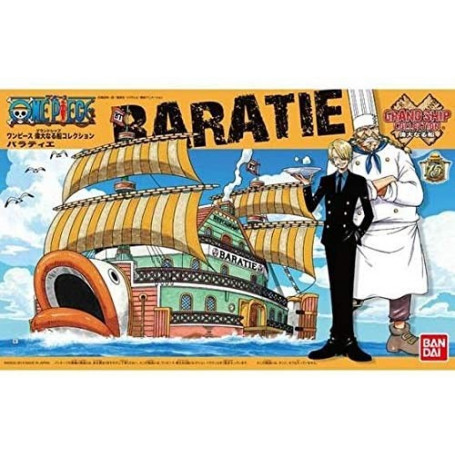 Bandai One Piece Model Kit - BARATIE