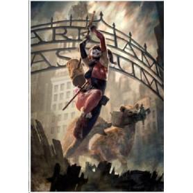 Dc Comics impression - Art Print Harley Quinn Arkham Asylum - 46 x 61 cm - non encadrée