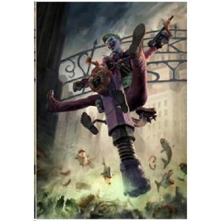 Dc Comics impression - Art Print The Joker Arkham Asylum - 46 x 61 cm - non encadrée