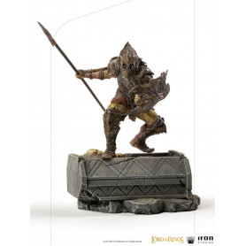 IRON STUDIOS - Armored Orc BDS Art Scale 1/10 - Lord of the Rings