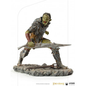 IRON STUDIOS - Swordsman Orc BDS Art Scale 1/10 - Lord of the Rings