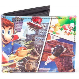 Portefeuille Nintendo - Super Mario Odyssey