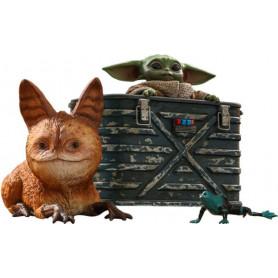 Hot Toys Star Wars - The Mandalorian - Grogu 1/6 pack de 3 figurines