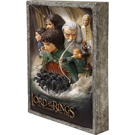Code 3 the Fellowship of the ring Poster 3D