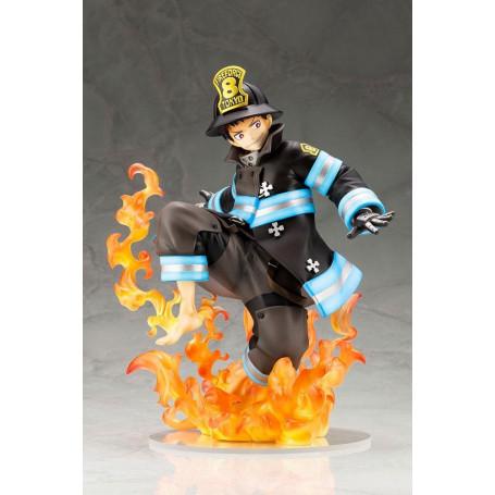 Kotobukiya statue PVC 1/8 Shinra Kusakabe Fire Force Glows in the Dark - Bonus Edition