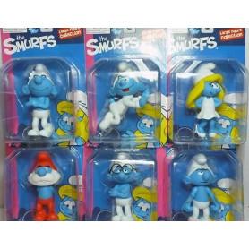 Figurine pvc Les Schtroumpf - The Smurfs - set de 6 figurines