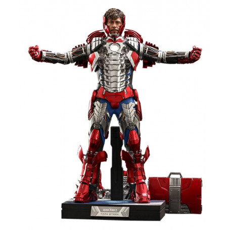 Hot Toys Iron Man 2 - Mark V Suit Up Version Deluxe 1/6