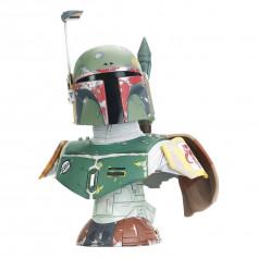 Diamond Select Toys - Boba Fett Episode V 1/2 Bust - LEGENDS IN 3D - Star Wars
