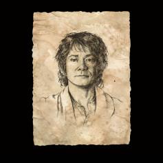 Weta - Bilbo Portrait Print - Le Hobbit Un Voyage Inattendu Art Print
