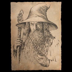 Weta - Gandalf Portrait Print - Le Hobbit Un Voyage Inattendu Art Print