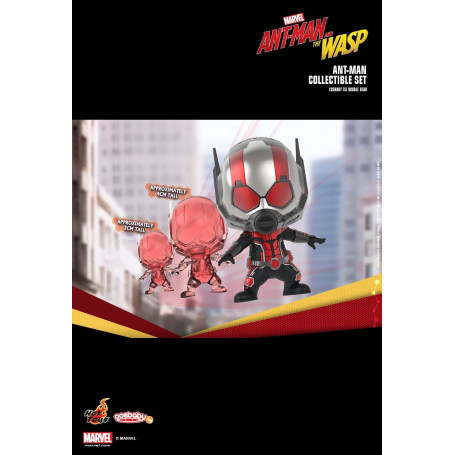 Hot Toys Ant-Man & the Wasp Phasing Version - Cosbaby - 9cm