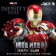Threezero Infinity Saga Iron Man - Mark 43 DLX 1/12